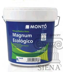 Фарба для стін салон декору Сієна Magnum Ecologico Monto